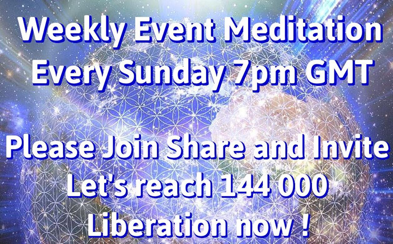Slika tedenske event meditacije