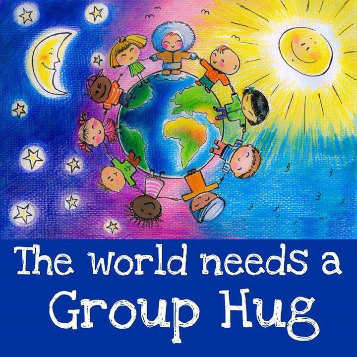Ta svet potrebuje skupinski objem